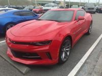 Camaro 1LT RS, GM Certified, 2D Coupe, RWD, Red Hot,