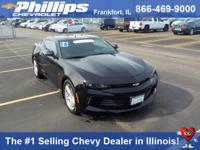 Options:  2016 Chevrolet Camaro 1Lt|Black|Turbo!