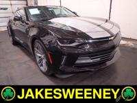 Meet our GM Certified 2016 Chevrolet Camaro. This