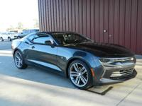 2016 CAMARO 2LT RS COUPE, CARFAX 1-OWNER, LOW MILES,
