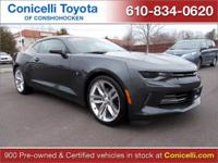 PREMIUM & KEY FEATURES ON THIS 2016 Chevrolet Camaro
