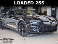 2016 Chevrolet Camaro SS 2SS With: 6.2L 455HP V8, Power