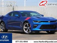 CARFAX One-Owner. Clean CARFAX. Blue 2016 Chevrolet