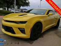 CARFAX One-Owner. Clean CARFAX. Yellow 2016 Chevrolet