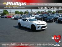 Options:  2016 Chevrolet Camaro 1Ss|White|Attention!!!