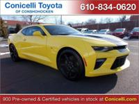 CarFax 1-Owner, This 2016 Chevrolet Camaro SS will sell