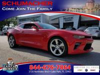Options:  2016 Chevrolet Camaro Ss|