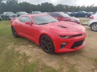 Certified. Red Hot 2016 Chevrolet Camaro SS 2SS RWD