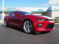 Come see this 2016 Chevrolet Camaro SS. Its Automatic