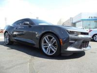 Check out this 2016 Chevrolet Camaro SS. Its Manual