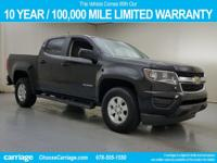 New Price! 2016 Chevrolet Colorado Work Truck in Black,