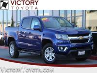 2016 Chevrolet Colorado LT in Blue starred featured