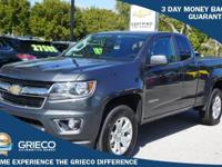 2016 Chevrolet Colorado, GM Certified, 100K Warranty,