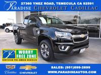 Colorado LT, GM Certified, 3.6L V6 DGI DOHC VVT,