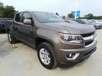 Come see this certified 2016 Chevrolet Colorado 4WD LT.