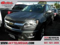 Options:  2016 Chevrolet Colorado 4Wd Lt|Gray|3.6L