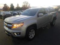 2016 Chevrolet Colorado Extended Cab LT in Blade Silver