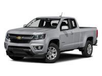 2016 Chevrolet Colorado LT Black Recent Arrival! Clean