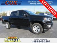 New Price! Certified. This 2016 Chevrolet Colorado LT
