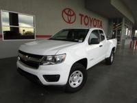 Options:  2016 Chevrolet Colorado Work Truck|4X4 Work