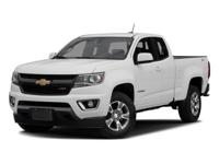Low Miles! This 2016 Chevrolet Colorado 2WD Z71 will