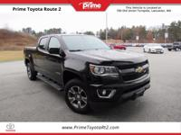 New Price! 2016 Chevrolet Colorado Z71 in Black. 4WD.