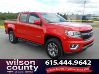2016 Chevrolet Colorado Z71 3.6L V6 DGI DOHC VVT Red