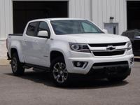 Certified. 2016 Chevrolet Colorado Z71 Summit White
