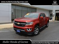 Get set for adventure in our 2016 Chevrolet Colorado