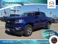 4WD. Z71 Package! Crew Cab! GREENWAY DEAL! Tired of the