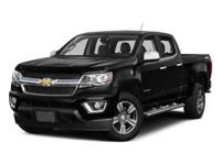 2016 Red Chevrolet Colorado Z71 6-Speed Automatic 2.8L