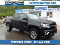 This Is The One! Black / Black Z71 4 Wheel Drive Crew