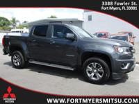 2016 Chevrolet Colorado Z71 in Cyber Gray Metallic,