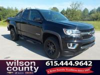 2016 Chevrolet Colorado Z71 3.6L V6 DGI DOHC VVT Black