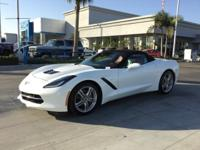 **GM Certified** and *172 Point Inspection*. Corvette