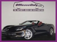 SPORTY FUN! Clean Carfax, One Owner, Black with Red