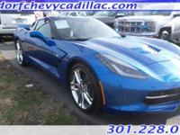 Come see this 2016 Chevrolet Corvette 2LT. Its