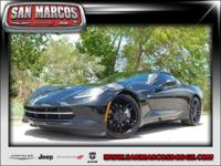 Options:  2016 Chevrolet Corvette 1Lt|Black/Black|V8