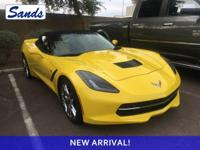 CARFAX One-Owner. Clean CARFAX. Corvette Racing Yellow