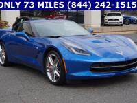 2016 Chevrolet Corvette, CLEAN CARFAX, ONE OWNER, VOICE