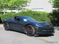 Z51 2LT coupe in Jet Black with black leather. 1-Owner