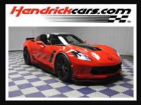 Torch Red exterior and Jet Black interior, Z06 2LZ