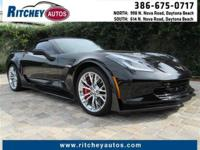 CERTIFIED PRE-OWNED 2016 CHEVY CORVETTE Z06 3LZ**LOW