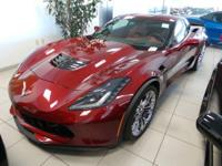 This 2016 Corvette Z06 has a stunning color combination
