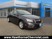 CERTIFIEDCarfax One Owner 2016 Chevrolet Cruze Limite