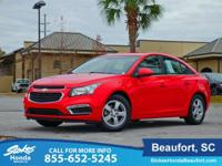 CARFAX One-Owner. Clean CARFAX. Red 2016 Chevrolet
