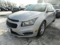 2016 Chevrolet Cruze Limited 1LT 38/26 Highway/City