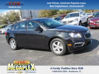 This 2016 Chevrolet Cruze Limited 1LT in Black Granite