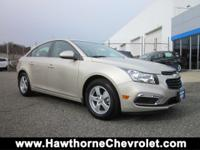 CERTIFIEDCarfax One Owner 2016 Chevrolet Cruze Limited