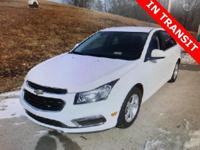 CARFAX One-Owner. Clean CARFAX. White 2016 Chevrolet
